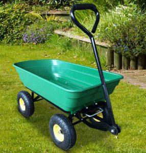HOMCOM 75 Litre Garden Cart