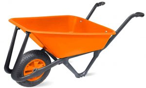 Lasher Ecobarrow Hi Vis Orange Garden Wheelbarrow