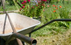 wheelbarrow handle