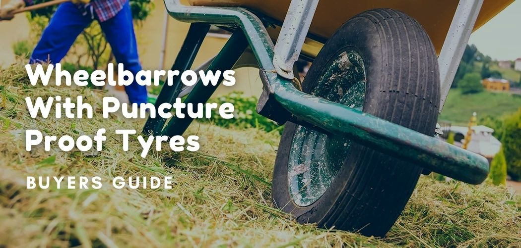 Wheelbarrows With Puncture Proof Tyres