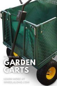 Best Garden Carts PIN