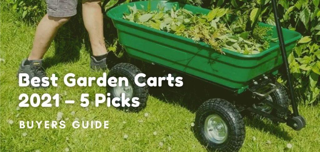 best garden carts 2021