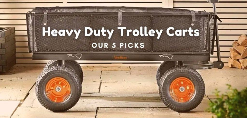 heavy duty trolley carts