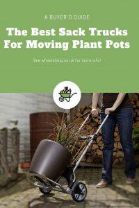 Sack Trucks For Moving Plant Pots pinterest
