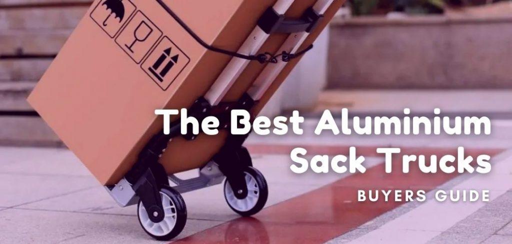 best aluminium sack trucks