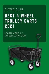 best 4 wheel trolley carts 2021 pin