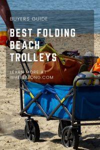 best folding beach trolleys pin