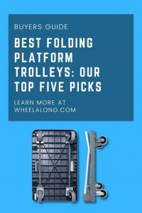 Best Folding Platform Trolleys Our Top Five Picks pin